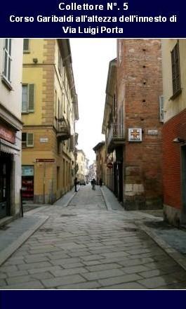 Il tracciato delle fognature romane di pavia - Pavia porta garibaldi ...